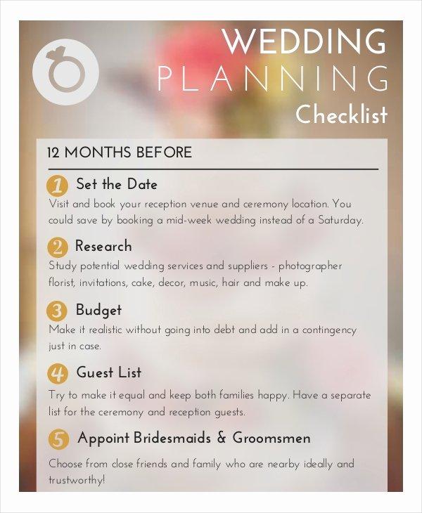 Wedding Photo Checklist Word Document Best Of Wedding Planner Checklist 12 Free Word Pdf Psd