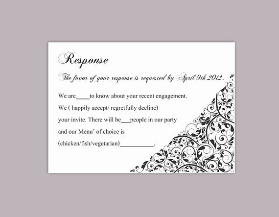 diy wedding rsvp template editable text word file rsvp template printable rsvp cards black rsvp card template elegant rsvp card