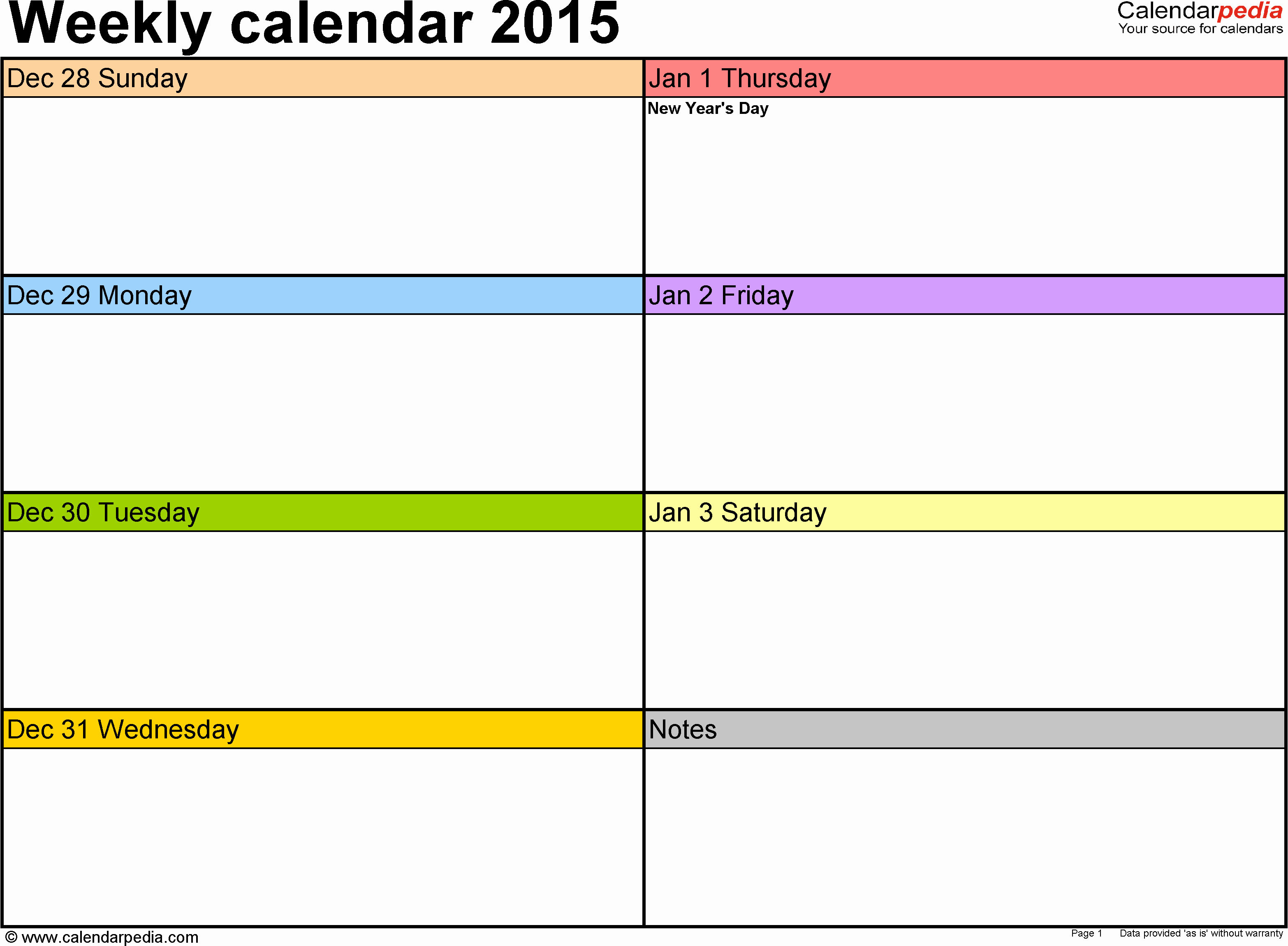 Weekly Calendar Template 2017 Awesome Weekly Calendar Template 2017