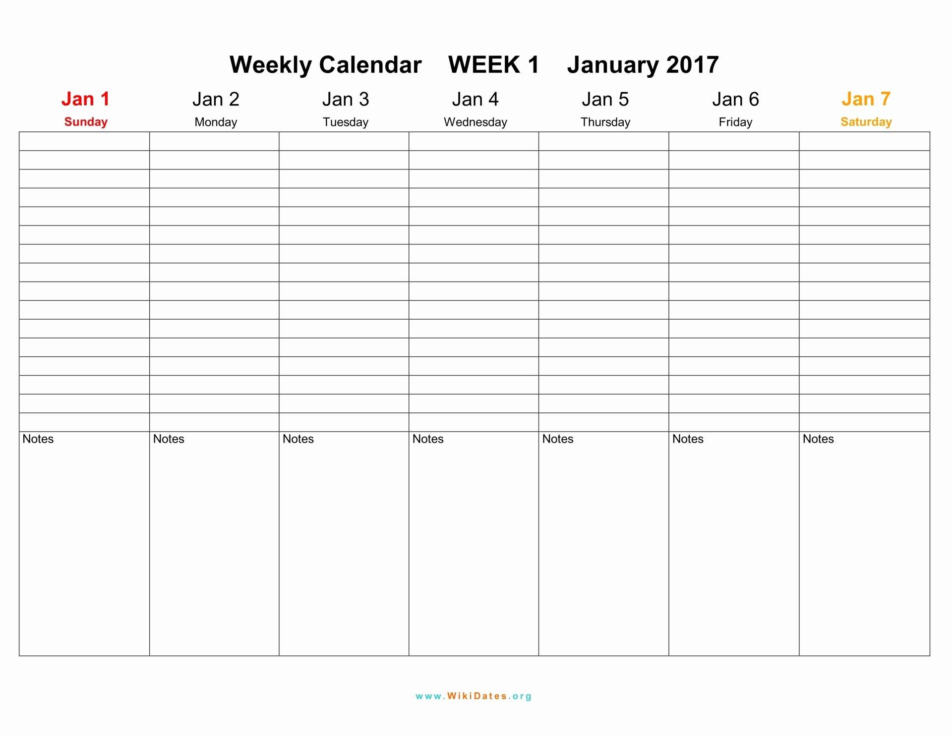 Weekly Calendar Template 2017 Beautiful Weekly Calendar Download Weekly Calendar 2017 and 2018
