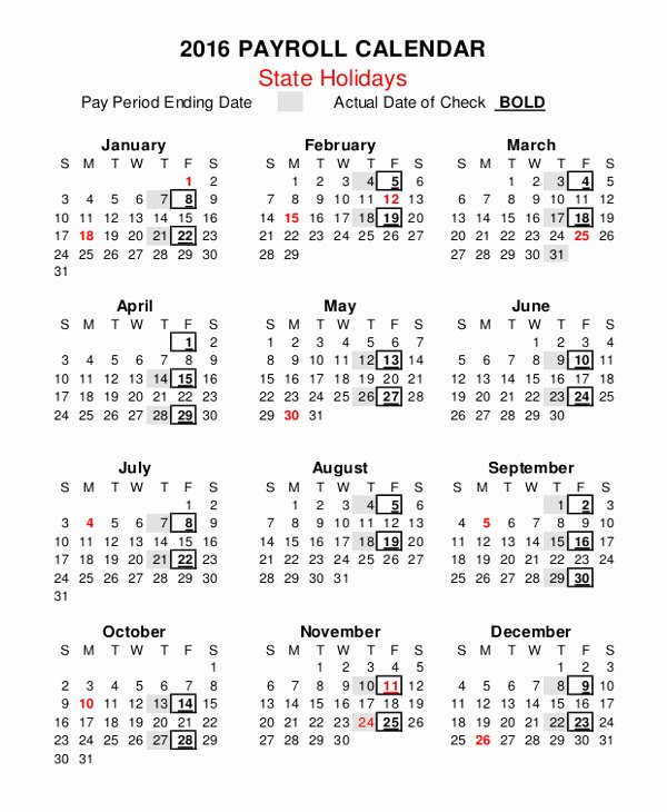 Weekly Payroll Calendar 2019 Luxury Awesome 35 Design Semi Monthly Payroll Calendar 2019 Template