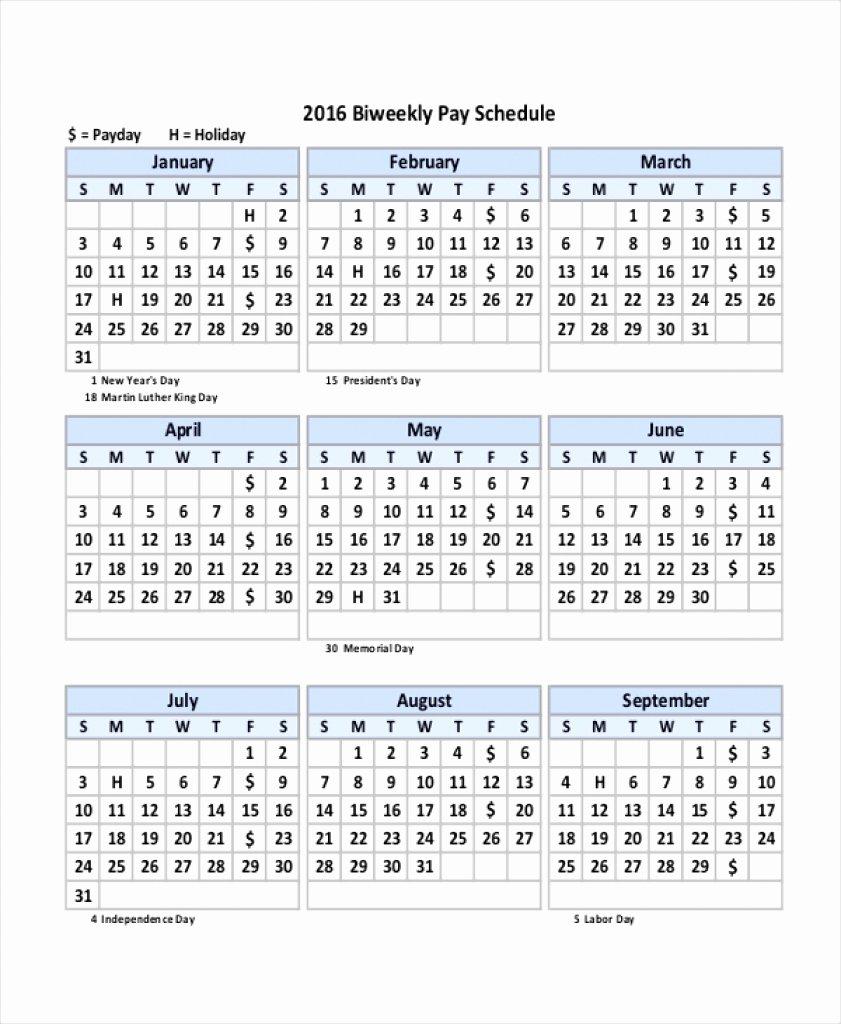 Weekly Payroll Calendar 2019 Luxury fortnightly Pay Calendar 2018 19