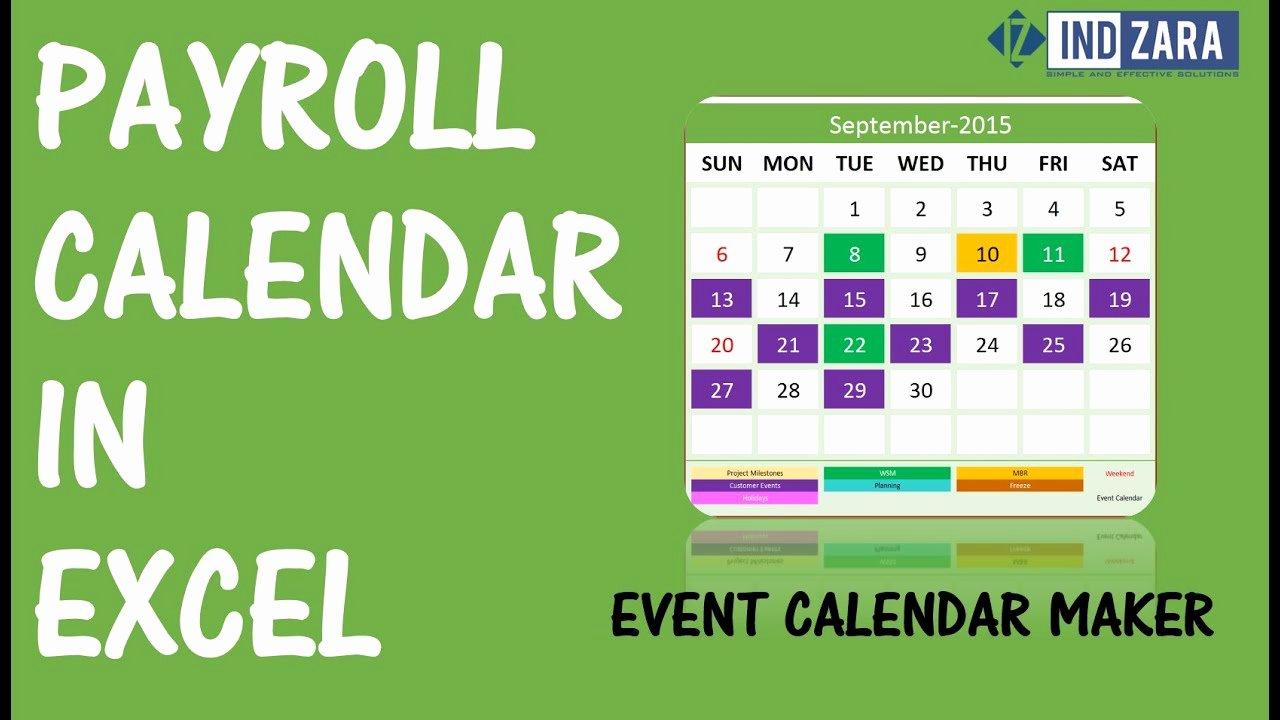 Weekly Payroll Calendar 2019 Luxury Weekly Payroll Calendar for 2019