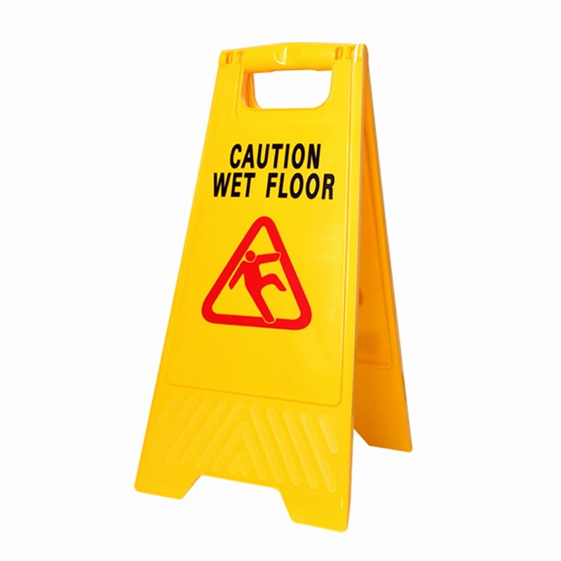 "Wet Floor Signs Printable Beautiful Mr Clean 24"" Yellow Workplus Wet Floor Caution Sign"