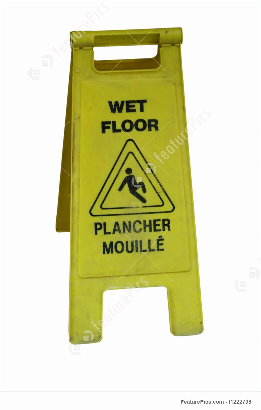 Wet Floor Signs Printable Fresh Bilingual Wet Floor Sign Picture