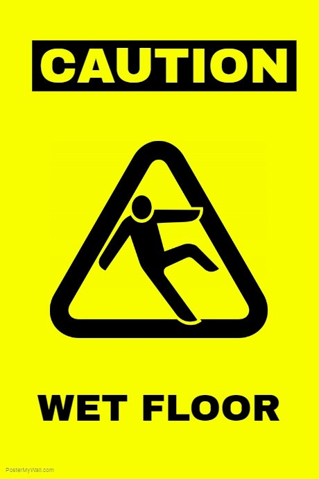 Wet Floor Signs Printable Fresh Wet Floor Sign Template
