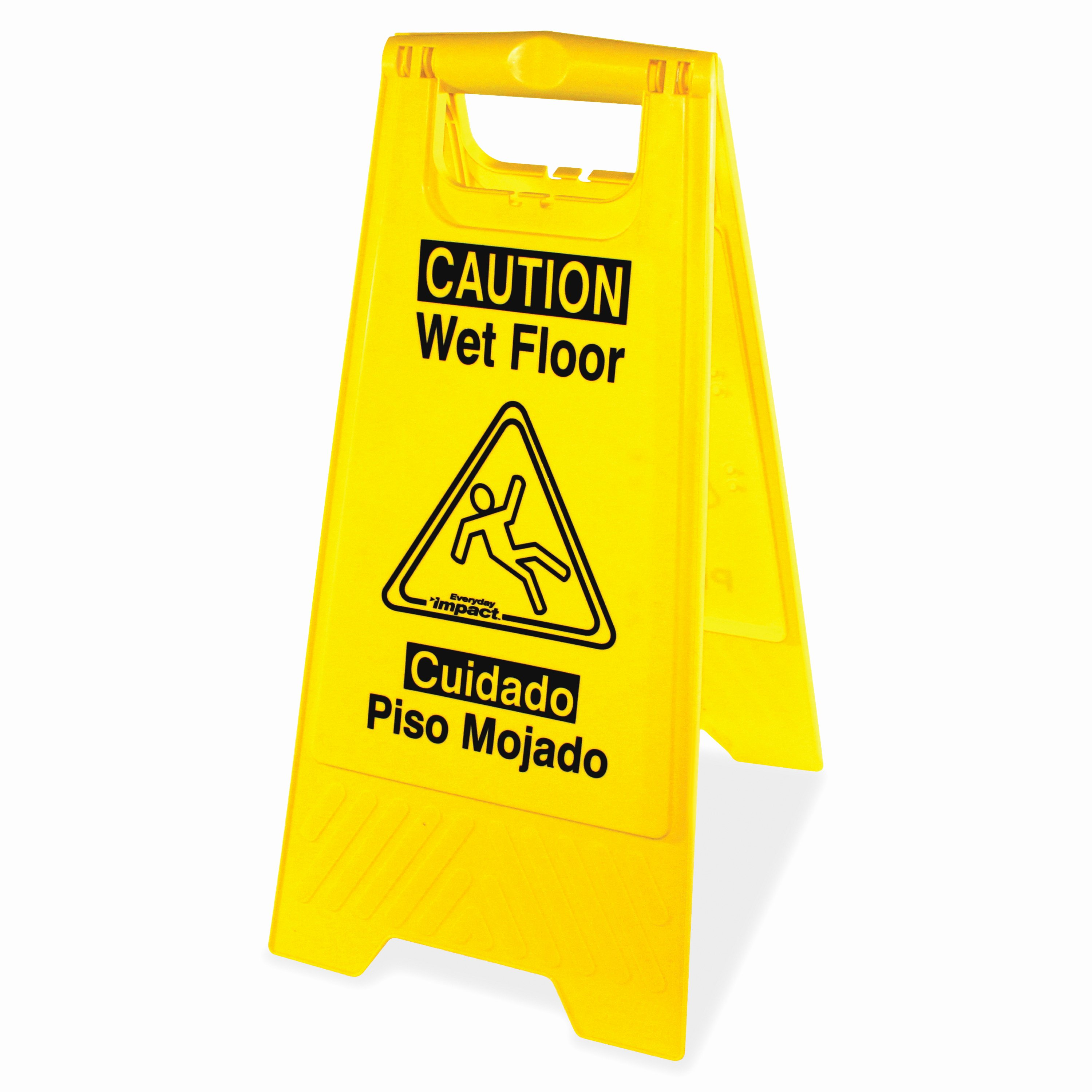 Wet Floor Signs Printable New Impact Products 9152wct English Spanish Wet Floor Sign 6