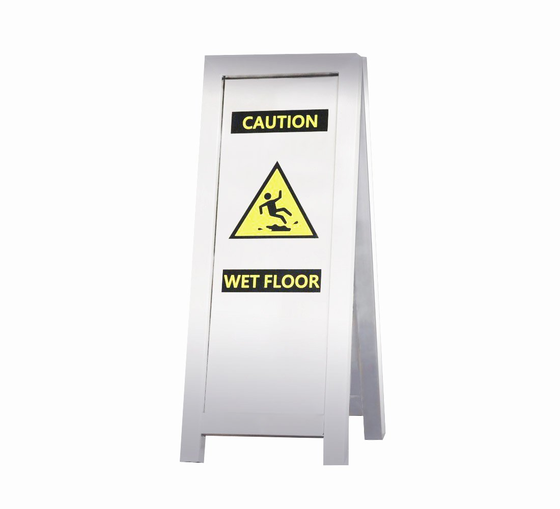Wet Floor Signs Printable New Stainless Steel Caution Wet Floor Sign Caf 509 – Canaan