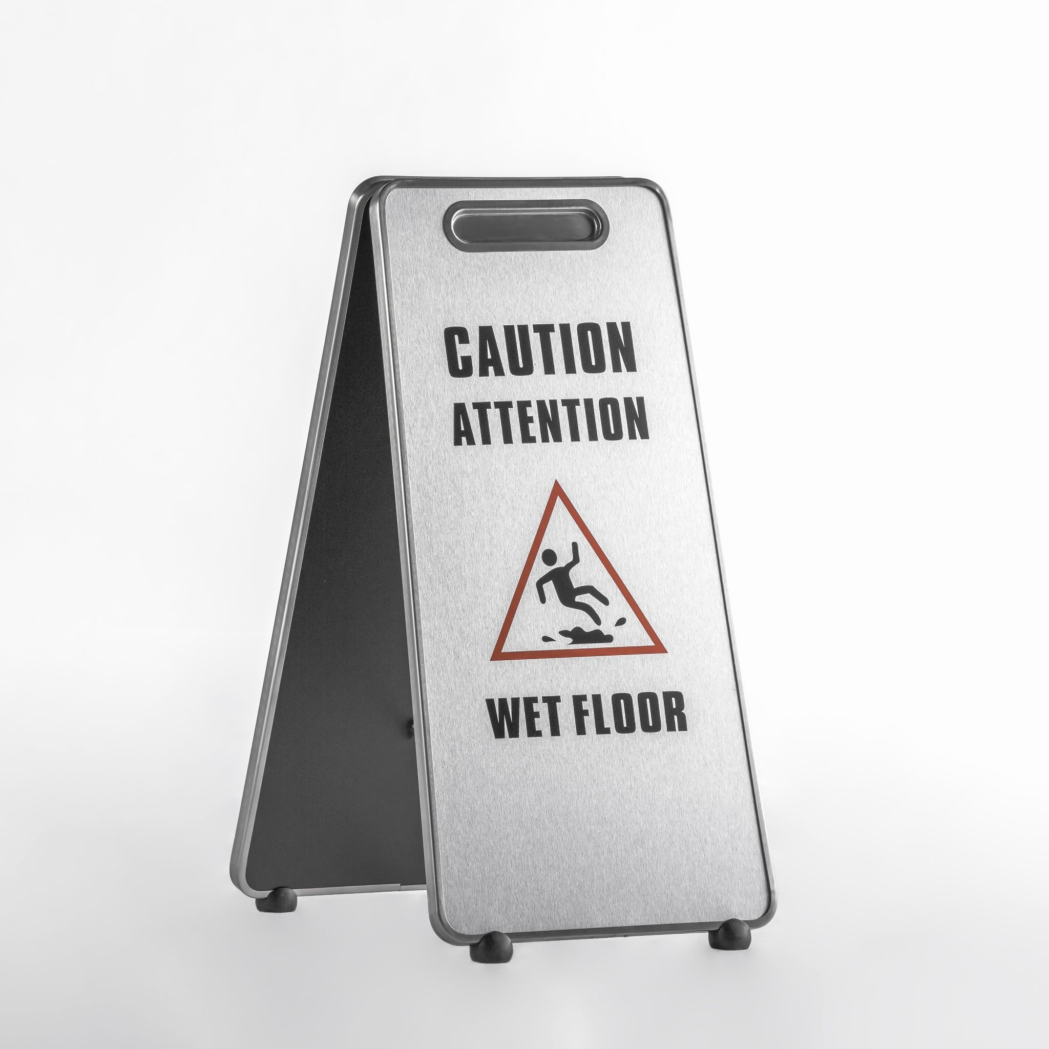 aluminum caution wet floor sign caf 508