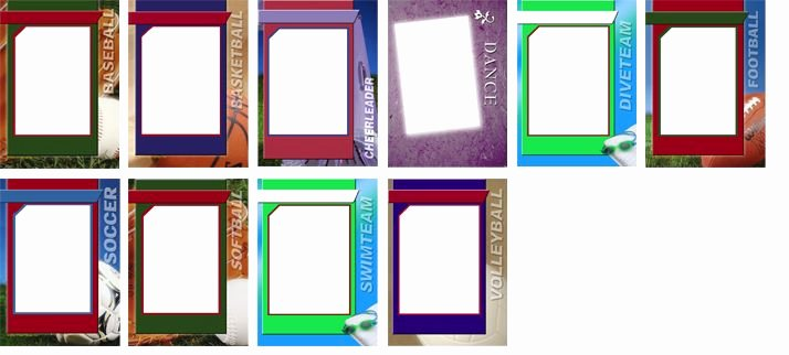 Word Trading Card Template Unique 25 Unique Trading Card Template Ideas On Pinterest
