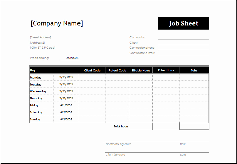 Work Instruction Template Word Lovely 4 Excel Sheet Templates for Everyone
