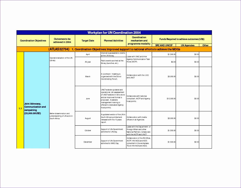 Work Plan Template Excel Elegant 6 Excel Work Plan Template Exceltemplates Exceltemplates