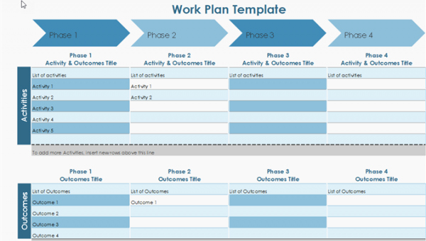 Work Plan Template Excel Fresh 10 Useful Free Project Management Templates for Excel