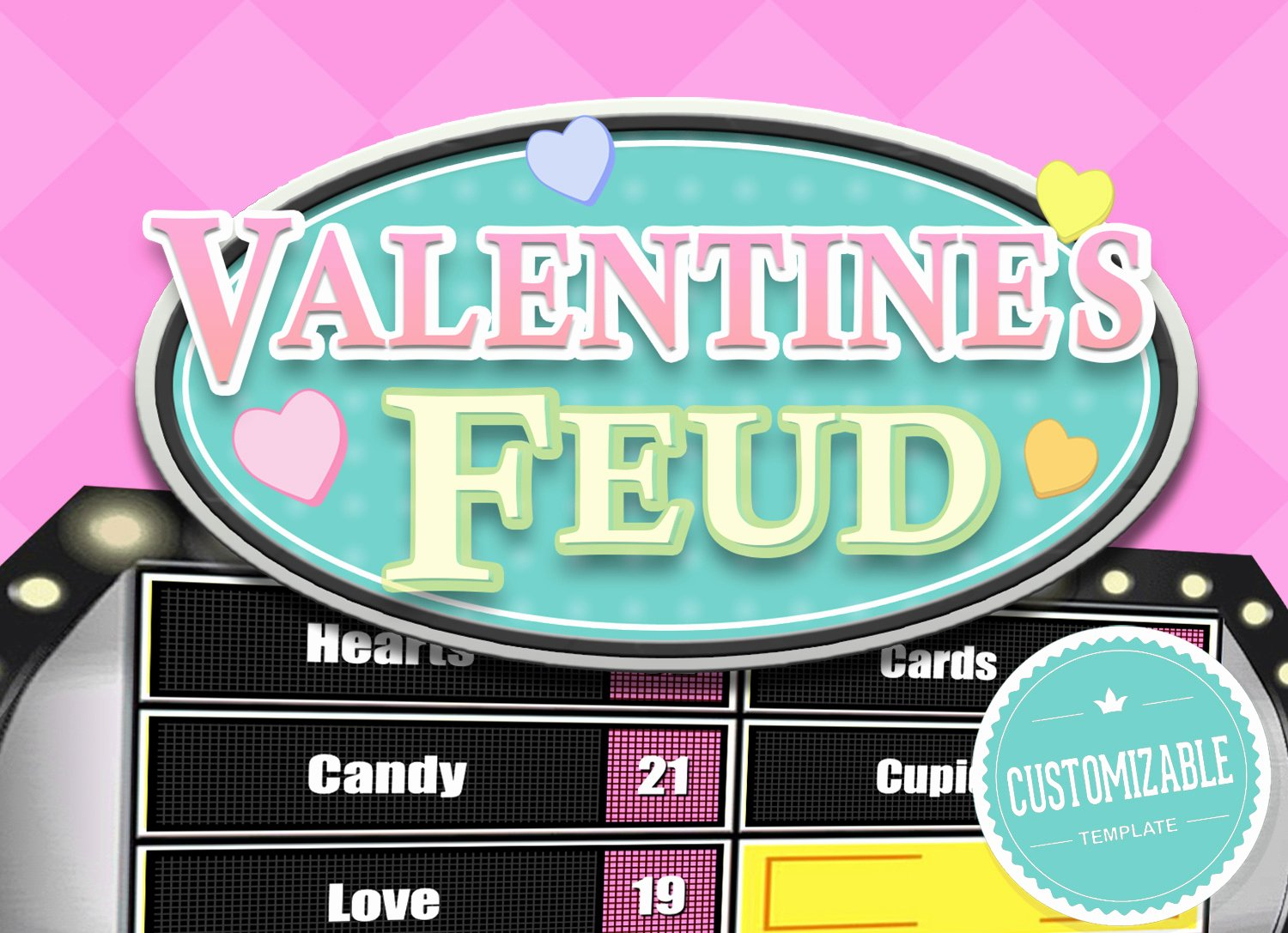 Youth Downloads Family Feud Awesome Valentine S Feud Trivia Powerpoint Game Mac Pc and Ipad