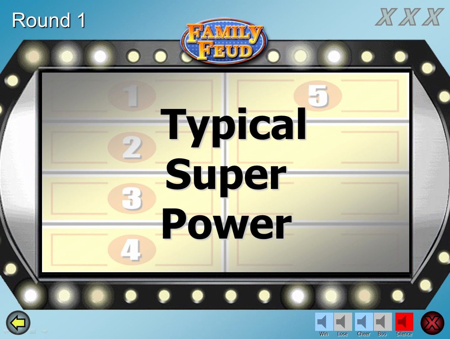 Youth Downloads Family Feud Unique A Customizable Family Feud Powerpoint Game